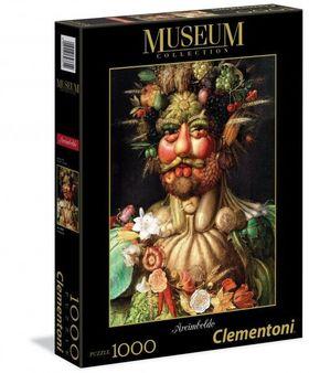 .- - Clementoni Puzzle 1000 Arcimboldo - Vertumnus
