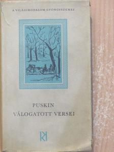 Puskin - Puskin válogatott versei [antikvár]