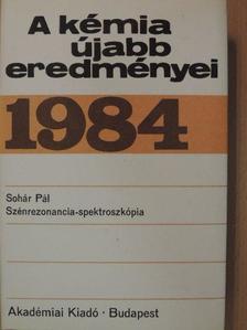 Sohár Pál - A kémia újabb eredményei 59. [antikvár]