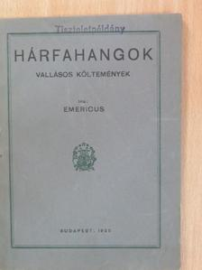 Emericus - Hárfahangok [antikvár]
