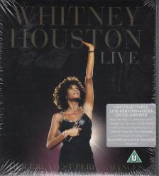 WHITNEY HOUSTON LIVE CD+DVD HER GREATEST PERFORMANCES