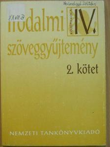 Irodalmi szöveggyűjtemény IV/2. [antikvár]