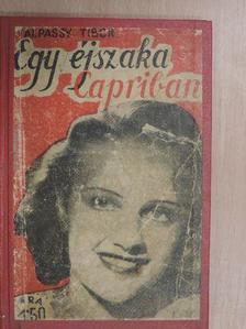 Talpassy Tibor - Egy éjszaka Capriban [antikvár]
