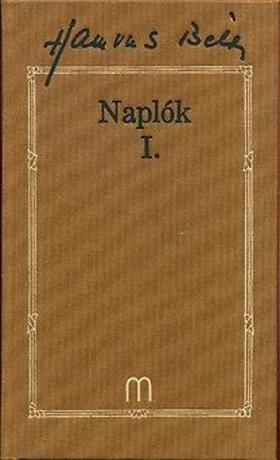 HAMVAS BÉLA - Naplók I-II.