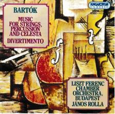 BARTÓK - MUSIC FOR STRINGS, PERCUSSION AND CELESTA CD12531