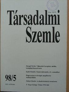 Balázs Géza - Társadalmi Szemle 1998. május [antikvár]