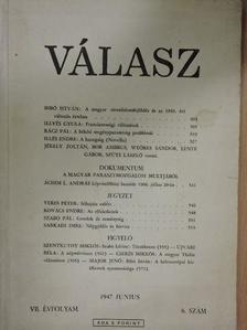 Bibó István - Válasz 1947. június [antikvár]