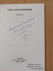 Balajthy Ferenc - A létbe vezető zarándoklat (dedikált példány) [antikvár]