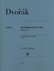 DVORAK - STREICHQUARTETT C-DUR OP.61