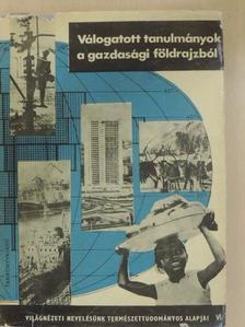Bora Gyula - Válogatott tanulmányok a gazdasági földrajzból [antikvár]
