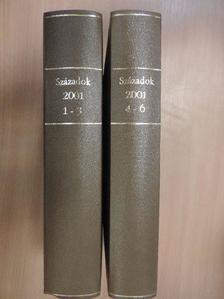 Balázs Mihály - Századok 2001/1-6. I-II. [antikvár]