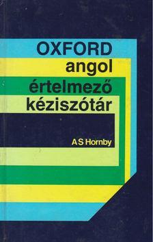 HORNBY, A S - Oxford angol értelmező kéziszótár [antikvár]