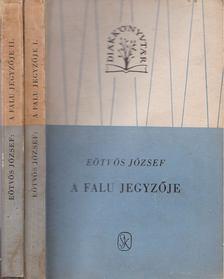 Eötvös József - A falu jegyzője I-II. [antikvár]