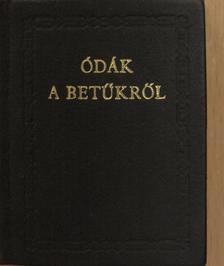 Ady Endre - Ódák a betűkről (minikönyv) [antikvár]