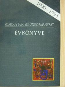 Ádámné Fábri Lili - Somogy Megyei Önkormányzat évkönyve 1990-1994. [antikvár]