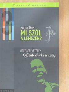 Fodor Géza - Mi szól a lemezen? 3. [antikvár]