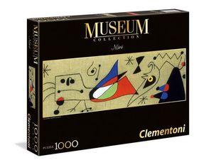 .- - Clementoni Puzzle 1000 Panoráma - Miró
