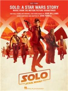 WILLIAMS JOHN - SOLO: A STAR WARS STORY. MUSIC FROM THE MOTION PICTURE SONDTRACK. EASY PIANO