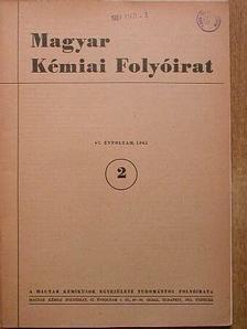 Balog János - Magyar Kémiai Folyóirat 1961. február [antikvár]