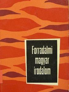 Csanda Sándor - Forradalmi magyar irodalom [antikvár]