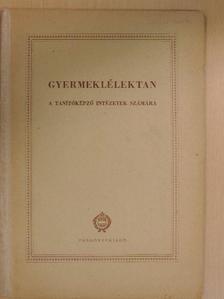 Dr. Harsányi István - Gyermeklélektan [antikvár]