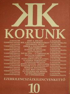 Balázs Sándor - Korunk 1992. október [antikvár]