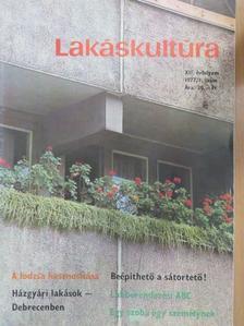 Komiszár Lajos - Lakáskultúra 1977/1. [antikvár]