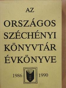 Bellágh Rózsa - Az Országos Széchényi Könyvtár Évkönyve 1986-1990 [antikvár]