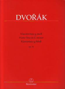 DVORAK - KLAVIERTRIO g-MOLL OP. 26 (HERAUSGEGEBEN VON A. POKORNY, K. SOLC)