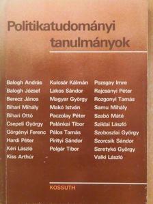 Balogh András - Politikatudományi tanulmányok [antikvár]