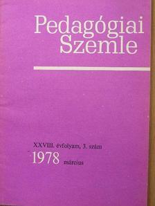 Ballér Endre - Pedagógiai Szemle 1978. március [antikvár]