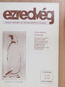 Ágai Ágnes - Ezredvég 2000. október [antikvár]