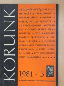 Aradi József - Korunk 1981. március [antikvár]