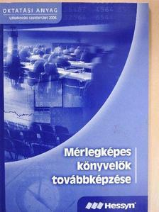 Dr. Nagy Gábor - Mérlegképes könyvelők továbbképzése 2006. [antikvár]