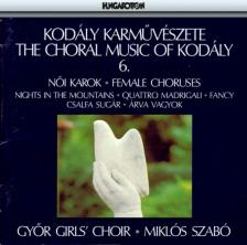 Kodály Zoltán - THE CHORAL MUSIC OF KODÁLY 6. CD - FIX
