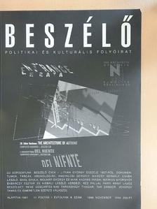 Angyalosi Gergely - Beszélő 1996. november [antikvár]