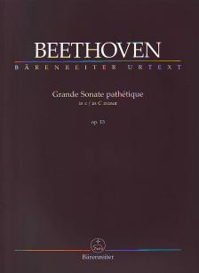 BEETHOVEN - GRANDE SONATE PATHÉTIQUE IN c MINOR OP. 13 URTEXT (HERAUSGEGEBEN VON J. DEL MAR)