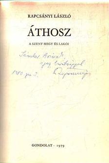 Rapcsányi László - Áthosz [antikvár]