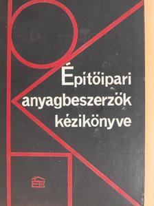 Gábor Miklós - Építőipari anyagbeszerzők kézikönyve [antikvár]