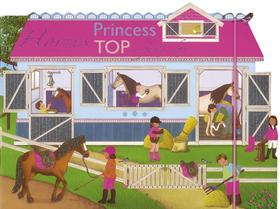 Princess TOP - Horses: a funny day (pink)