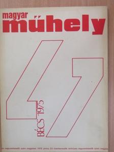 Anestis Logothetis - Magyar Műhely 1975. június [antikvár]