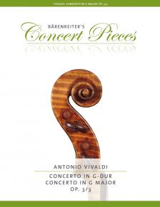 Vivaldi - CONCERTO IN G-DUR OP. 3/3 (HERAUSG. VON K. SASSMANNSHAUS)