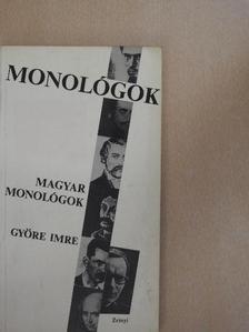 Györe Imre - Magyar monológok [antikvár]