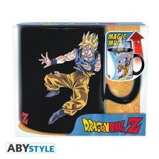 Abysse Europa Kft. - DRAGON BALL - Höre változó bögre - 460 ml - DBZ/ Goku VS Buu - x2