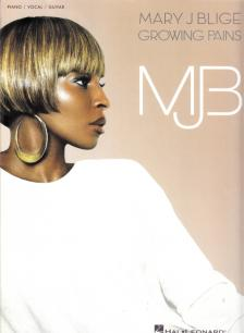 MARY J BLIGE - GROWING PAINS FOR PIANO / VOCAL / GUITAR