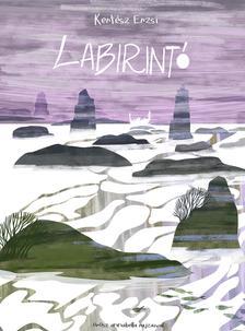 Kertész Erzsi író, Metzing Eszter illusztrátor - LABIRINTÓ