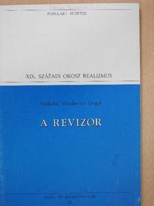 Nyikolaj Vasziljevics Gogol - A revizor [antikvár]