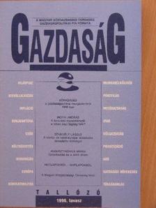 Augusztinovics Mária - Gazdaság 1996. tavasz [antikvár]