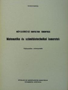 Polgár Tibor - Matematika és számítástechnikai ismeretek [antikvár]