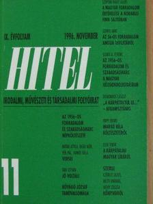 Botár Attila - Hitel 1996. november [antikvár]